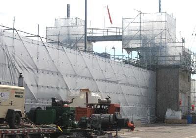 marine scaffolding services