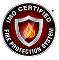 IMO fire rated logo